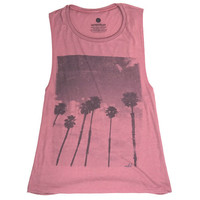 Coastal Palms - Muscle Tank
