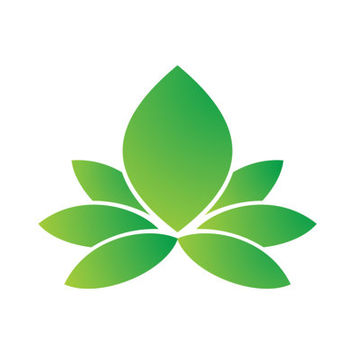 Green Lotus Reative Logo Design Vector for Your Future Business
