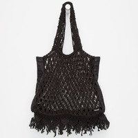 Volcom Road Tripper Tote Bag Black One Size For Women 26533210001