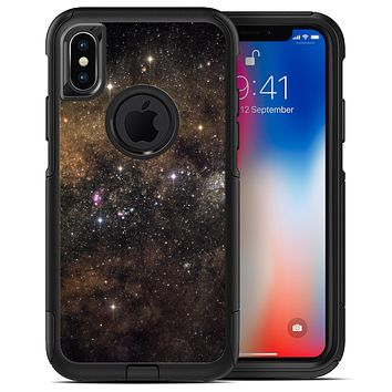 Gold Aura Space - iPhone X OtterBox Case & Skin Kits