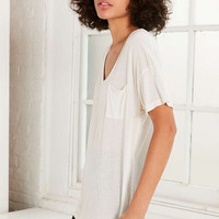 Truly Madly Deeply Slouchy Pocket Tee - Urban Outfitters