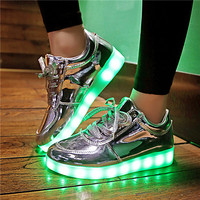 Luminous Sport LED Shoes men with Lighted for Adults Light Up Shoes led Unisex Glowing USB Charging Shoes