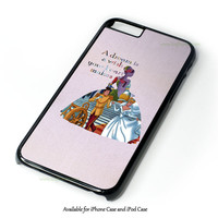 Cinderella Quote Disney Design for iPhone and iPod Touch Case
