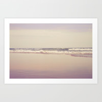 Sea Waves Art Print by vanessagf