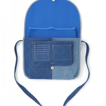 Denim Logged On Laptop Bag by Bando