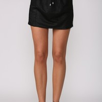 Cheerleader Skirt Black
