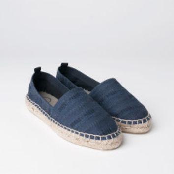 MILL MERCANTILE - Folk - Cotton Espadrille in Blue Note