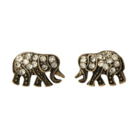 LOVEsick Bling Elephant Earrings