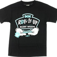 Dgk Roll It Up Tee M Black