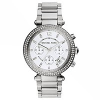 Parker Silver-Tone Watch | Michael Kors