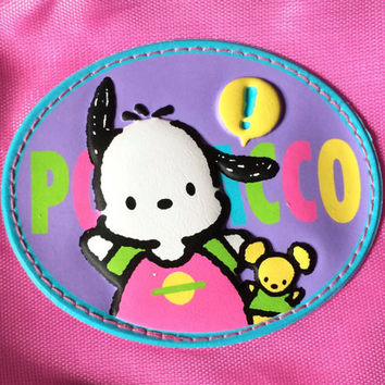 POCHACCO .. CuTE POUCH BaG .. CoSMETIC/PeNCILS/TRaVEL .. ViNTAGE SANRIO .. KAWAii