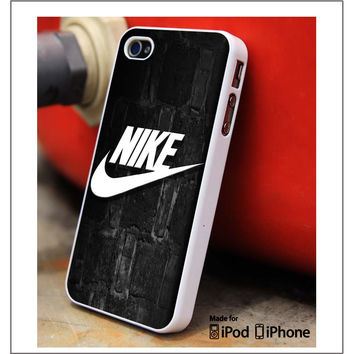 Nike Bricks Wall iPhone 4s iPhone 5 iPhone 5s iPhone 6 case, Galaxy S3 Galaxy S4 Galaxy S5 Note 3 Note 4 case, iPod 4 5 Case