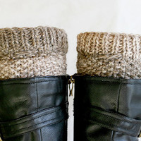 Knit boot socks, Boot toppers, Womens boot socks, Knit boot socks