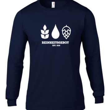 German Purity Law Long Sleeve T-Shirt