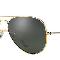 Ray-Ban RB3025 L0205 58-14 AVIATOR CLASSIC Gold sunglasses | Official Online Store US