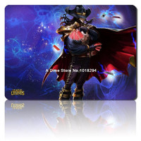 lol mouse pad Card Master Twisted Fate mousepad laptop Legends mouse pad razer notbook computer gaming mouse pad gamer play mats