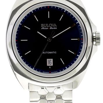 Bulova AccuSwiss Telc Automatic Watch 63B186
