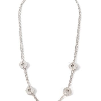 Marc By Marc Jacobs Double Chain Necklace