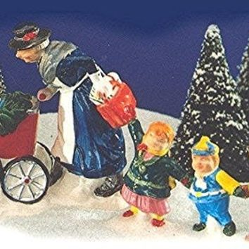 Nanny And The Preschoolers (Set of 2) - Department 56 (Retired)