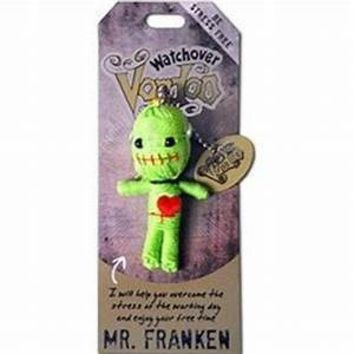 Watchover Voodoo Doll Mr. Franken Keychain
