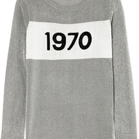 Bella Freud - Sparkle 1970 metallic knitted sweater