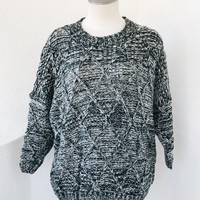 APRIL KNIT SWEATER- MARBLE