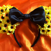 Flower Mouse Ears Headband