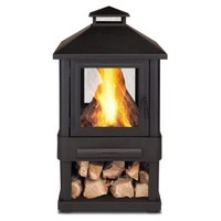 Real Flame Trestle Wood-Burning Outdoor Fire Pit (Discontinued by Manufacturer)