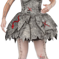 Voodoo Dolly Adult Costume | L (10-12)