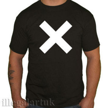 THE XX BAND TOP BASIC SPACE TOUR HIPSTER CROSS ISLANDS VCR AMSTERDAM T SHIRT NEW