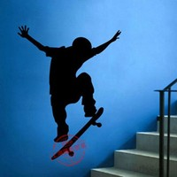 Skateboarder Vinyl Wall Decal