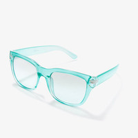 F9685 Transparent Sunglasses | FOREVER 21 - 1000049685