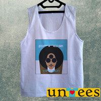 Men's Basic Tank Top - Prince Rogers Nelson Hit and Run Design