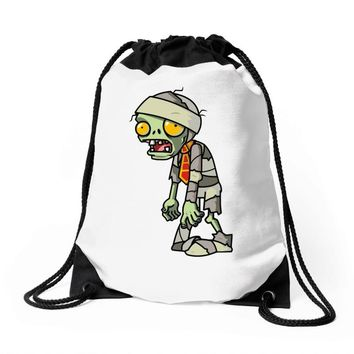 plants vs zombies Drawstring Bags