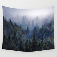 The Visionary Echo #society6 Wall Tapestry by 83oranges.com | Society6