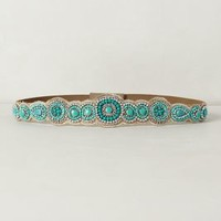 Turquoise Beaded Belt by Anthropologie Turquoise M Belts