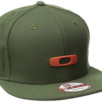 Oakley Men's Metal Gas Can O-Justable Hat, Flare Orange, One Size