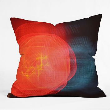 Leonidas Oxby Lights 1 Throw Pillow