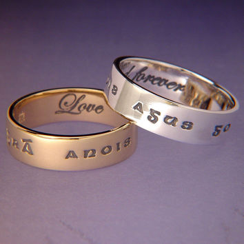 Gaelic: Love Now And Forever Sterling Silver