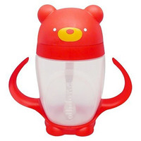Bear Sippy Cup, Red