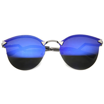 AFTER GLOW IRIDESCENT CAT EYE SUNGLASSES