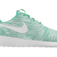 Nike Roshe Run iD Custom Women's Shoes - Blue