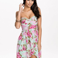 Floral Print Short Dress, NLY One