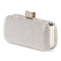 Double Sided Crystal Clutch - Handbags - T.J.Maxx