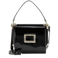 Miss Viv' Mini Evening patent leather shoulder bag