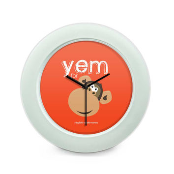 Yem For Monkey Yinglish Crash Course Table Clock