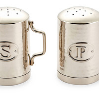 Hammered Salt & Pepper Shakers, Steel, Salt & Pepper, Accessories