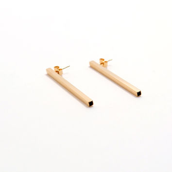Sleek Earrings - Gold