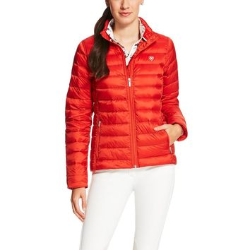 Ariat Ladies Ideal Down Jacket - Molten Lava