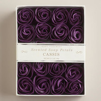 Cassis Soap Petals, 20-Piece - World Market